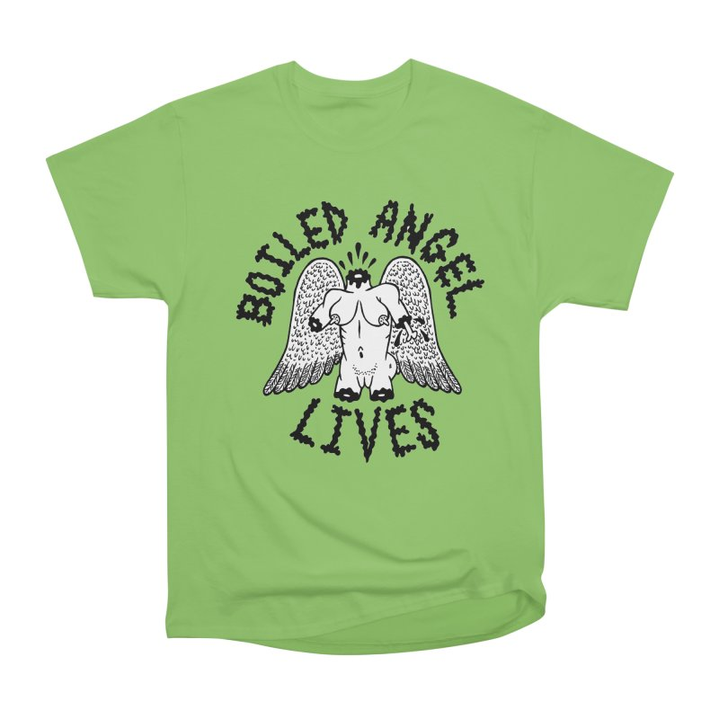 Boiled Angel Lives Women's Heavyweight Unisex T-Shirt by Mike Diana T-Shirts Mugs and More!