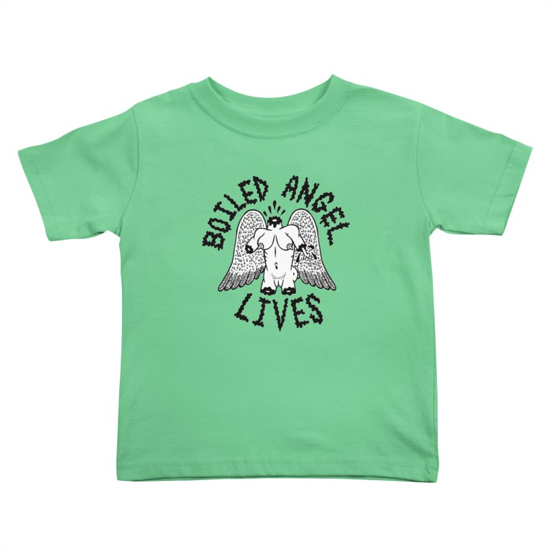 Boiled Angel Lives Kids Toddler T-Shirt by Mike Diana T-Shirts! Horrible Ugly Heads Limited E