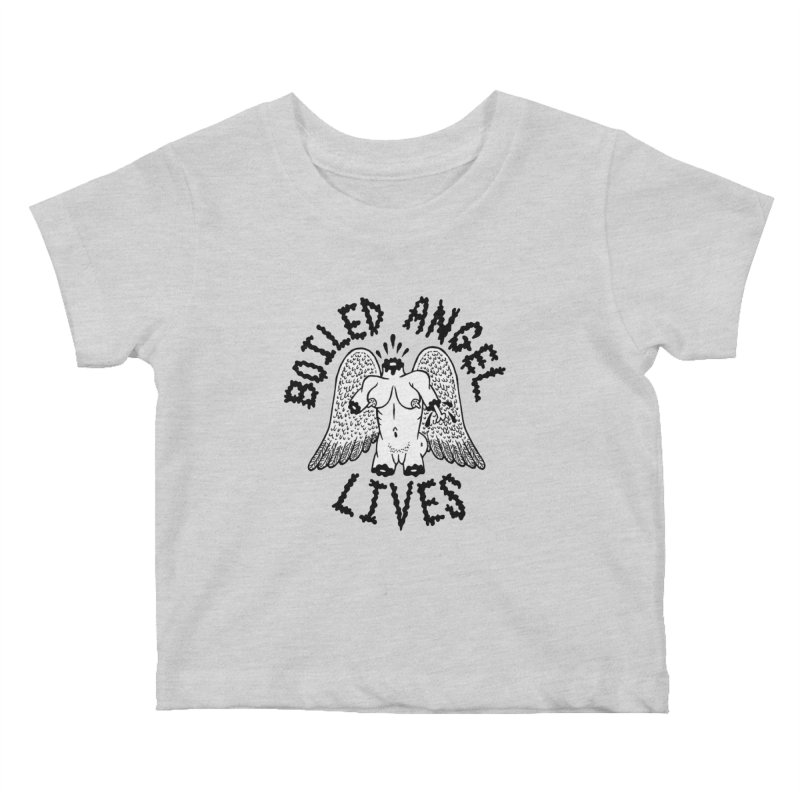 Boiled Angel Lives Kids Baby T-Shirt by Mike Diana T-Shirts Mugs and More!