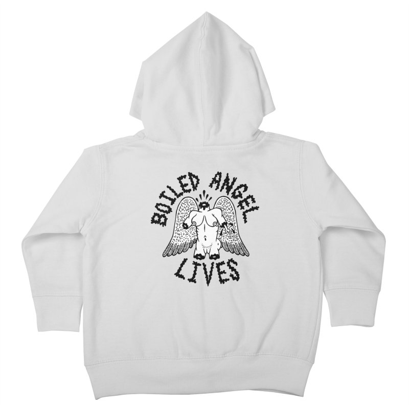 Boiled Angel Lives Kids Toddler Zip-Up Hoody by Mike Diana T-Shirts Mugs and More!
