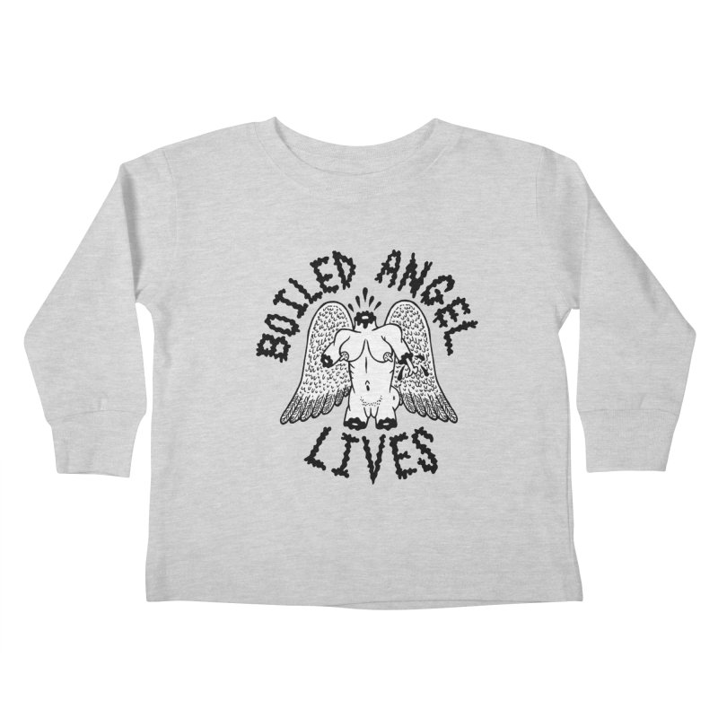 Boiled Angel Lives Kids Toddler Longsleeve T-Shirt by Mike Diana T-Shirts Mugs and More!