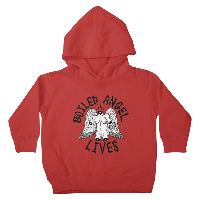 Boiled Angel Lives Kids Toddler Pullover Hoody by Mike Diana T-Shirts! Horrible Ugly Heads Limited E