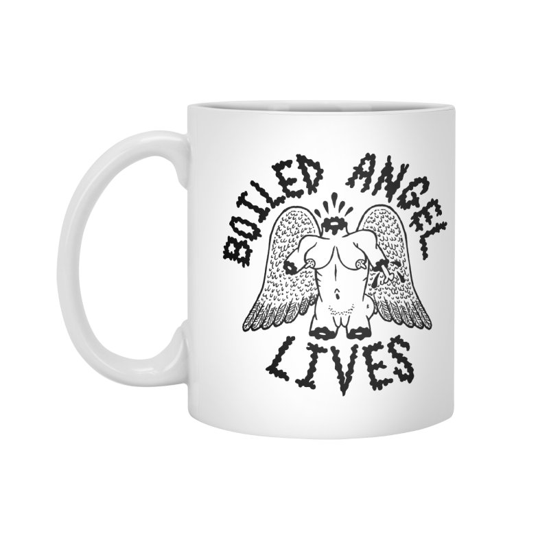 Boiled Angel Lives Accessories Standard Mug by Mike Diana T-Shirts Mugs and More!