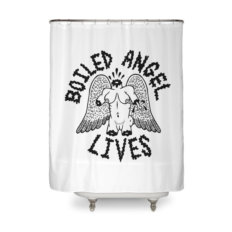 Boiled Angel Lives Home Shower Curtain by Mike Diana T-Shirts Mugs and More!