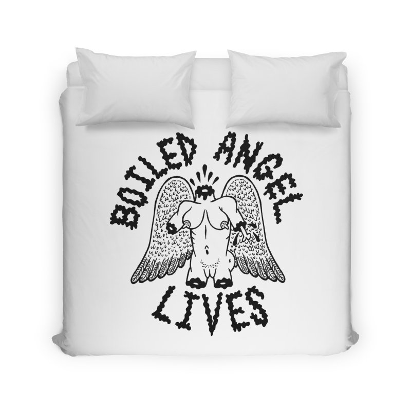 Boiled Angel Lives Home Duvet by Mike Diana T-Shirts Mugs and More!