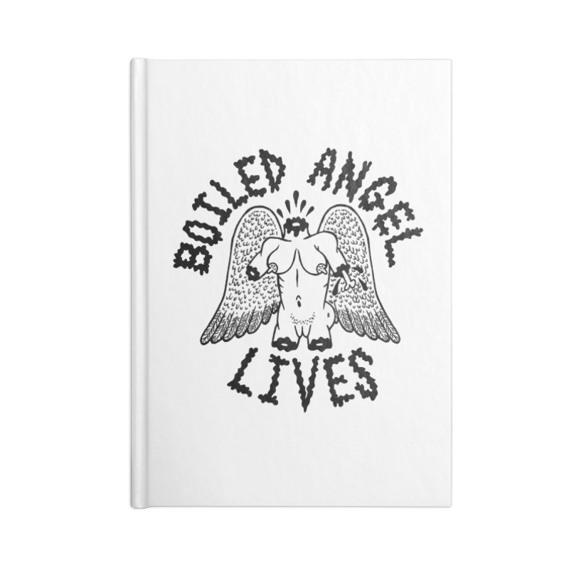 Boiled Angel Lives Accessories Blank Journal Notebook by Mike Diana T-Shirts Mugs and More!