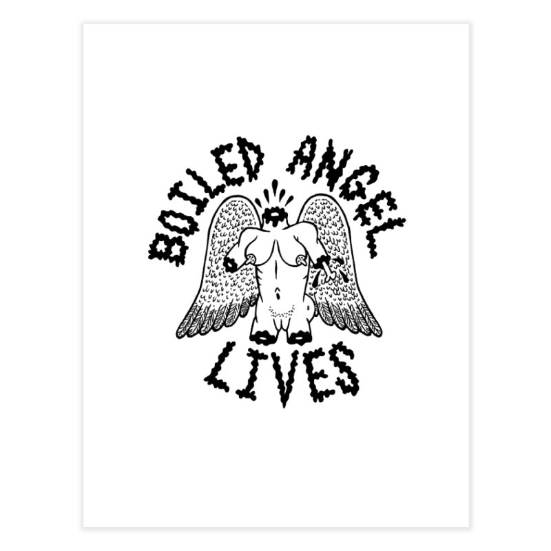 Boiled Angel Lives Home Fine Art Print by Mike Diana T-Shirts Mugs and More!