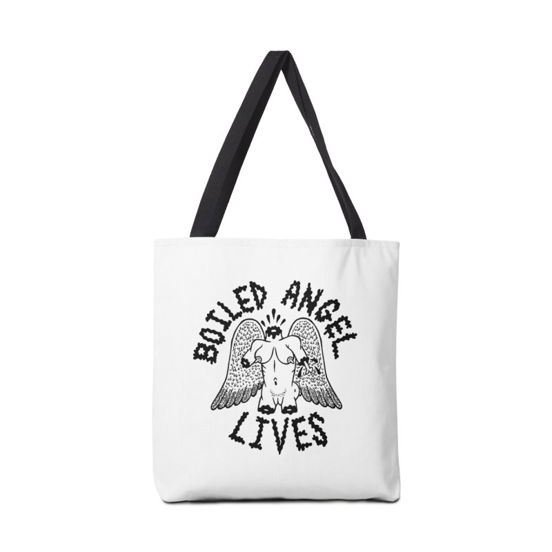 Boiled Angel Lives Accessories Tote Bag Bag by Mike Diana T-Shirts Mugs and More!