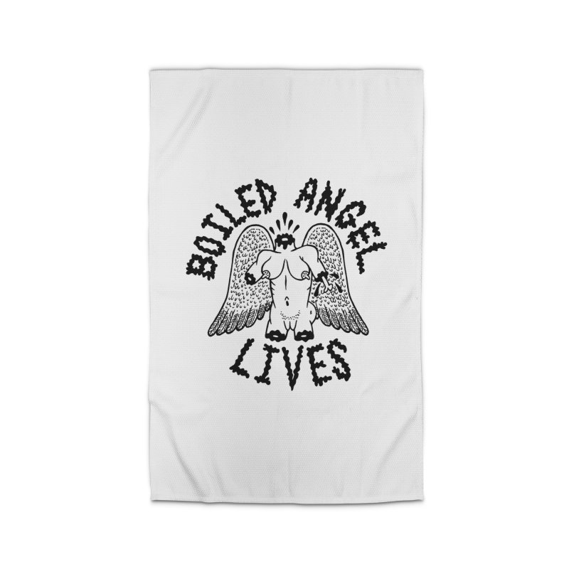 Boiled Angel Lives Home Rug by Mike Diana T-Shirts Mugs and More!