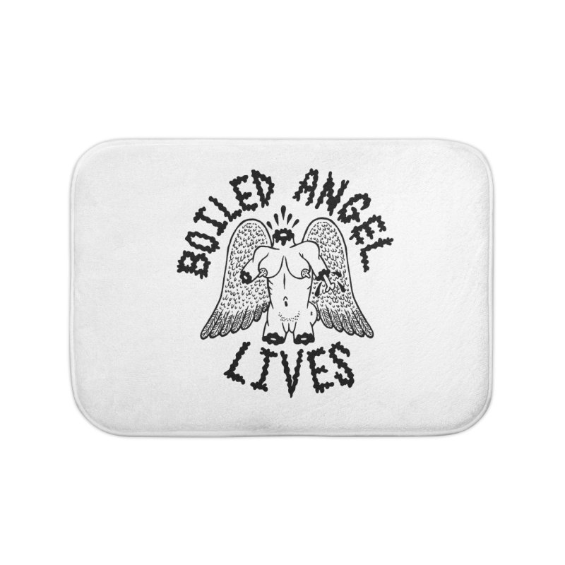 Boiled Angel Lives Home Bath Mat by Mike Diana T-Shirts Mugs and More!