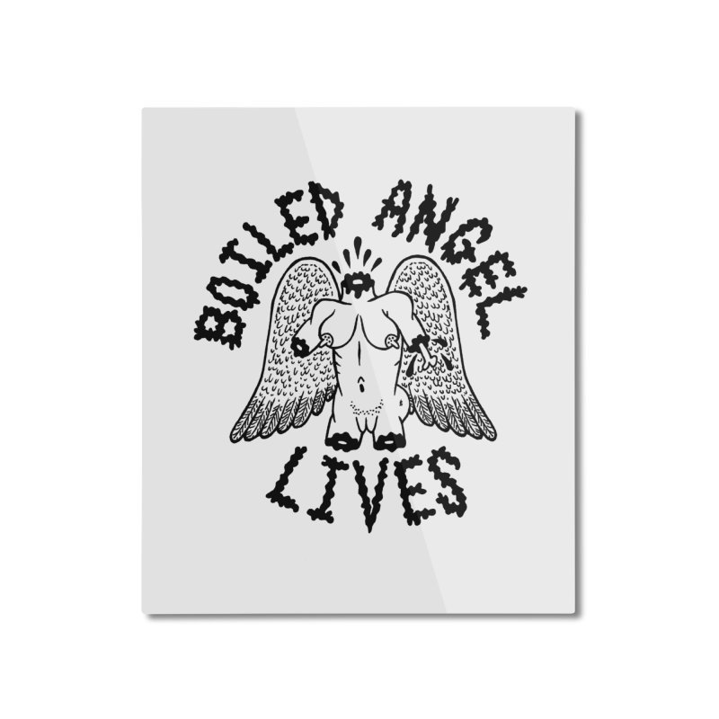 Boiled Angel Lives Home Mounted Aluminum Print by Mike Diana T-Shirts Mugs and More!