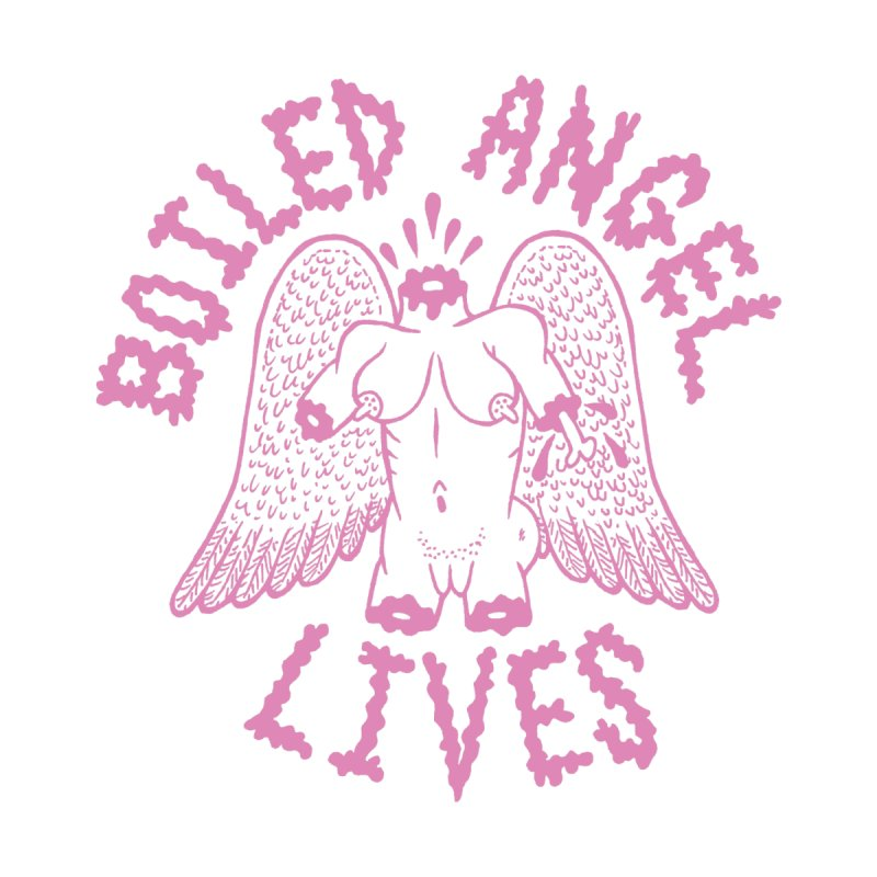 Mike Diana - BOILED ANGEL LIVES - Pink Women's Scoop Neck by Mike Diana T-Shirts Mugs and More!