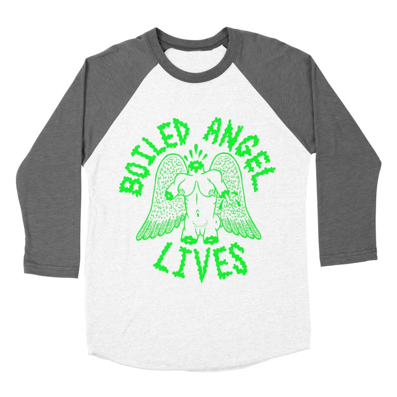Mike Diana - BOILED ANGEL LIVES - Green Logo Women's Longsleeve T-Shirt by Mike Diana T-Shirts Mugs and More!