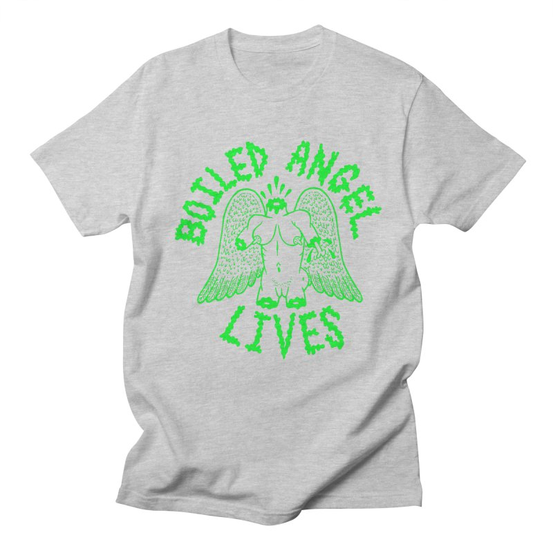 Mike Diana - BOILED ANGEL LIVES - Green Logo Women's Regular Unisex T-Shirt by Mike Diana T-Shirts Mugs and More!