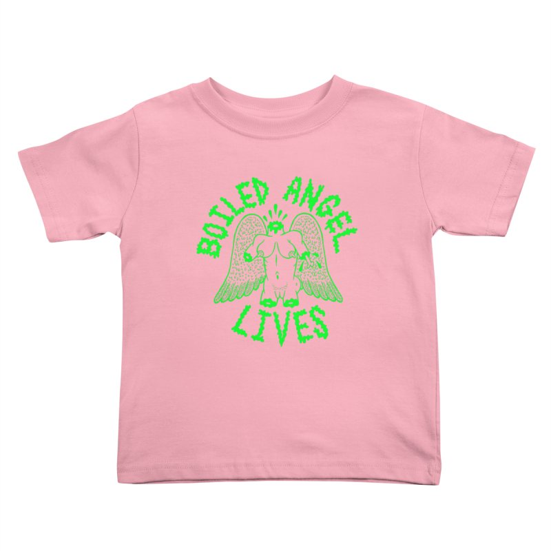 Mike Diana - BOILED ANGEL LIVES - Green Logo Kids Toddler T-Shirt by Mike Diana T-Shirts Mugs and More!