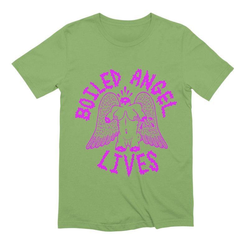 Mike Diana BOILED ANGEL LIVES - Purple Men's Extra Soft T-Shirt by Mike Diana T-Shirts Mugs and More!