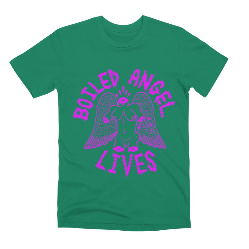 Mike Diana BOILED ANGEL LIVES - Purple Men's Premium T-Shirt by Mike Diana T-Shirts Mugs and More!