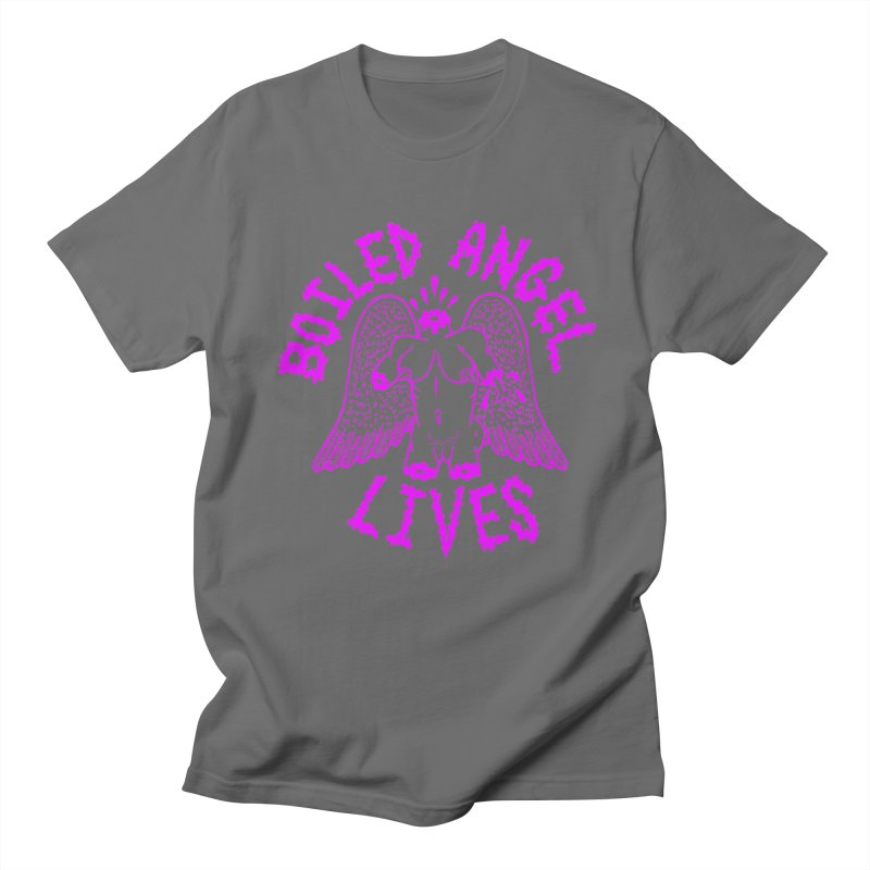 Mike Diana BOILED ANGEL LIVES - Purple Men's T-Shirt by Mike Diana T-Shirts Mugs and More!