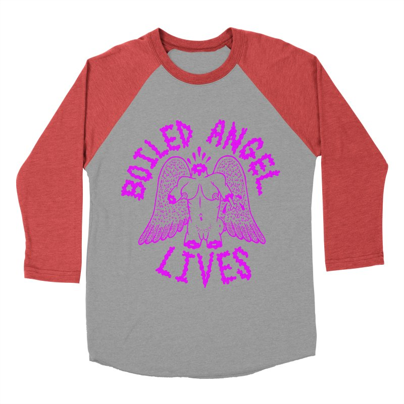 Mike Diana BOILED ANGEL LIVES - Purple Men's Longsleeve T-Shirt by Mike Diana T-Shirts Mugs and More!