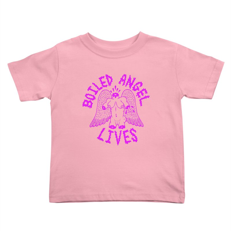 Mike Diana BOILED ANGEL LIVES - Purple Kids Toddler T-Shirt by Mike Diana T-Shirts Mugs and More!