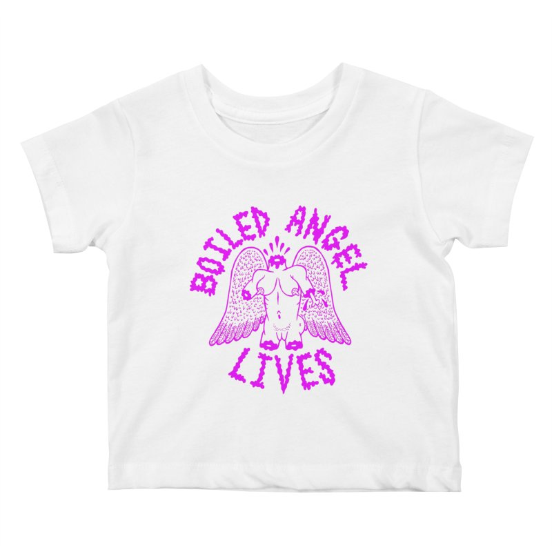 Mike Diana BOILED ANGEL LIVES - Purple Kids Baby T-Shirt by Mike Diana T-Shirts Mugs and More!