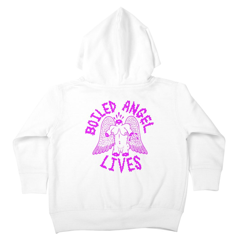 Mike Diana BOILED ANGEL LIVES - Purple Kids Toddler Zip-Up Hoody by Mike Diana T-Shirts Mugs and More!