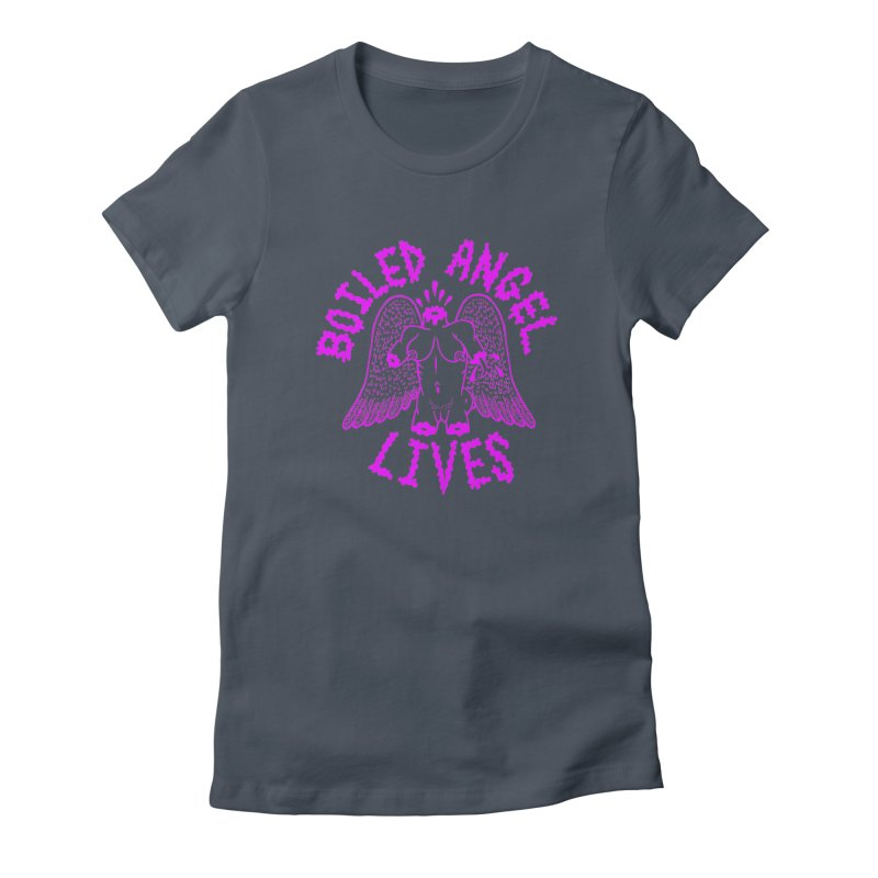 Mike Diana BOILED ANGEL LIVES - Purple Women's T-Shirt by Mike Diana T-Shirts Mugs and More!