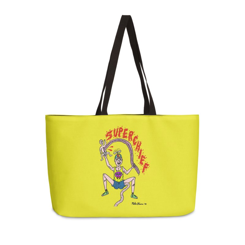 Mike Diana Superchief Kid Accessories Weekender Bag Bag by Mike Diana T-Shirts Mugs and More!
