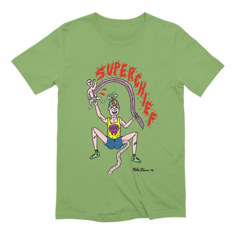 Mike Diana Superchief Kid Men's Extra Soft T-Shirt by Mike Diana T-Shirts Mugs and More!