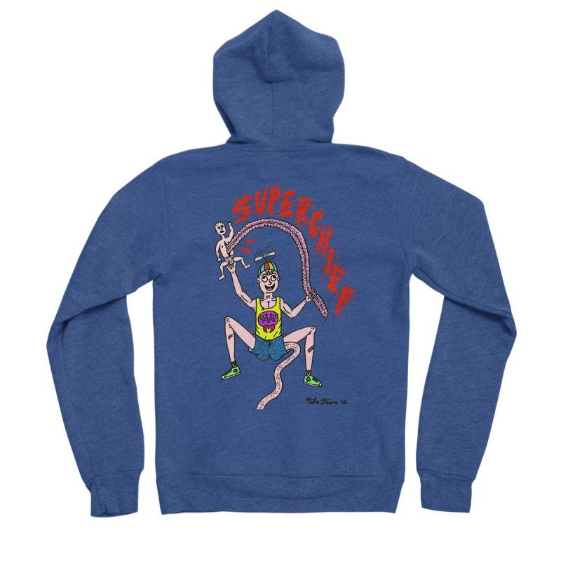 Mike Diana Superchief Kid Men's Sponge Fleece Zip-Up Hoody by Mike Diana T-Shirts Mugs and More!