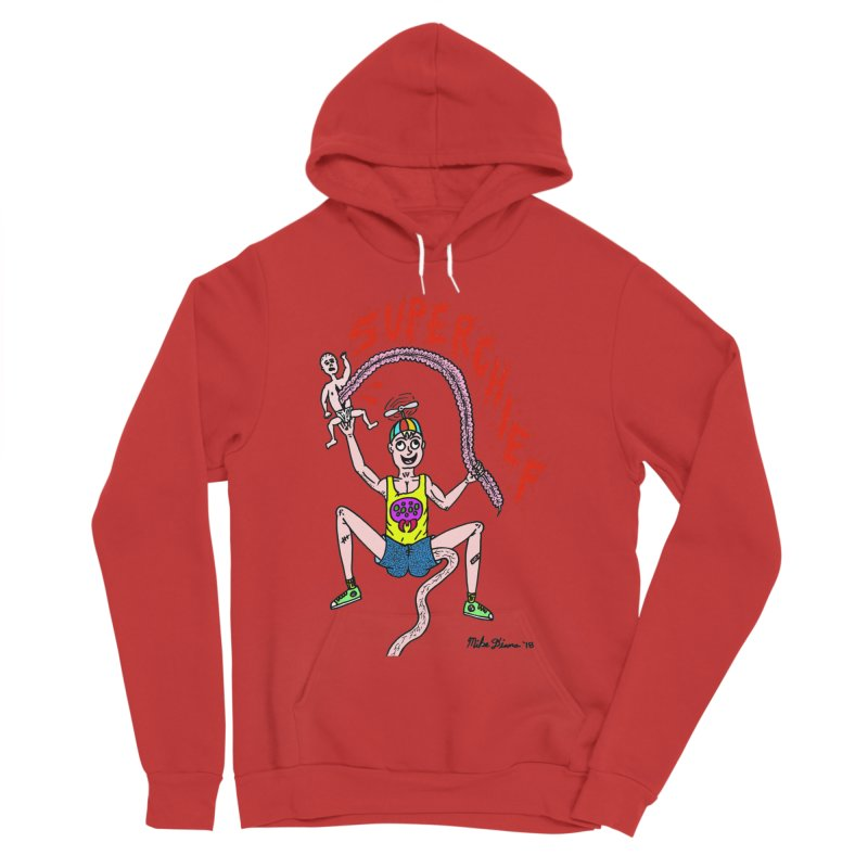 Mike Diana Superchief Kid Men's Sponge Fleece Pullover Hoody by Mike Diana T-Shirts Mugs and More!