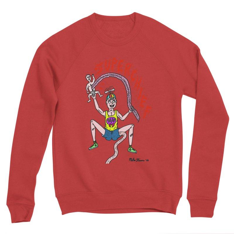 Mike Diana Superchief Kid Men's Sponge Fleece Sweatshirt by Mike Diana T-Shirts Mugs and More!