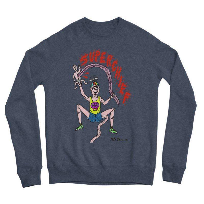 Mike Diana Superchief Kid Women's Sponge Fleece Sweatshirt by Mike Diana T-Shirts Mugs and More!