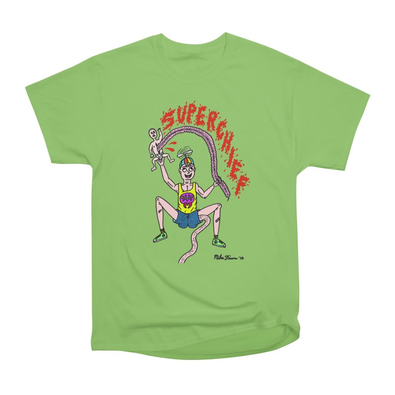 Mike Diana Superchief Kid Men's Heavyweight T-Shirt by Mike Diana T-Shirts Mugs and More!