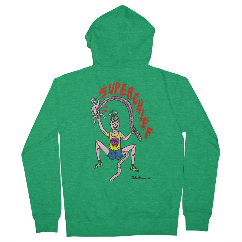 Mike Diana Superchief Kid Women's Zip-Up Hoody by Mike Diana Threadless