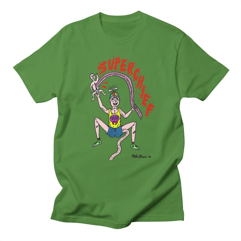 Mike Diana Superchief Kid Women's Regular Unisex T-Shirt by Mike Diana T-Shirts Mugs and More!