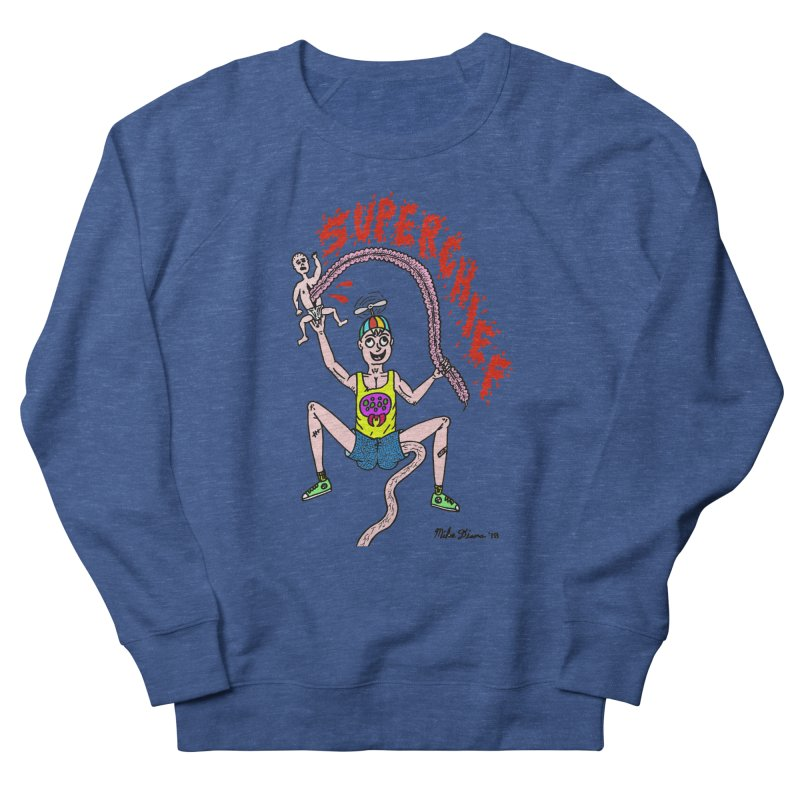 Mike Diana Superchief Kid Women's French Terry Sweatshirt by Mike Diana T-Shirts Mugs and More!
