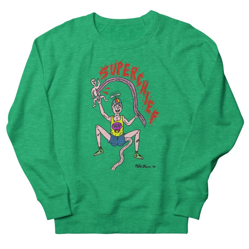 Mike Diana Superchief Kid Men's French Terry Sweatshirt by Mike Diana T-Shirts Mugs and More!