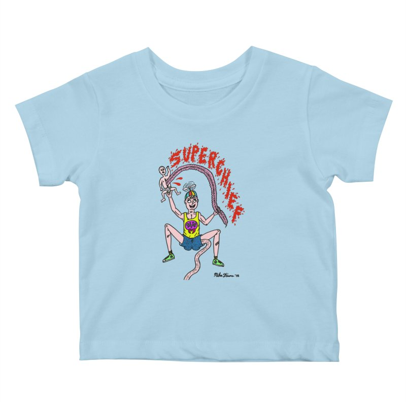 Mike Diana Superchief Kid Kids Baby T-Shirt by Mike Diana T-Shirts Mugs and More!