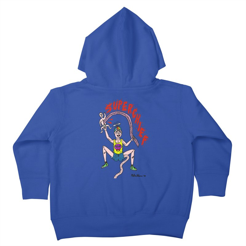 Mike Diana Superchief Kid Kids Toddler Zip-Up Hoody by Mike Diana T-Shirts Mugs and More!