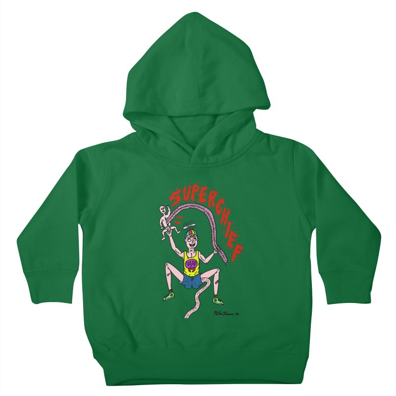 Mike Diana Superchief Kid Kids Toddler Pullover Hoody by Mike Diana T-Shirts Mugs and More!