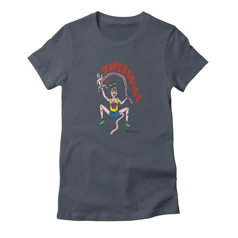 Mike Diana Superchief Kid Women's T-Shirt by Mike Diana T-Shirts Mugs and More!