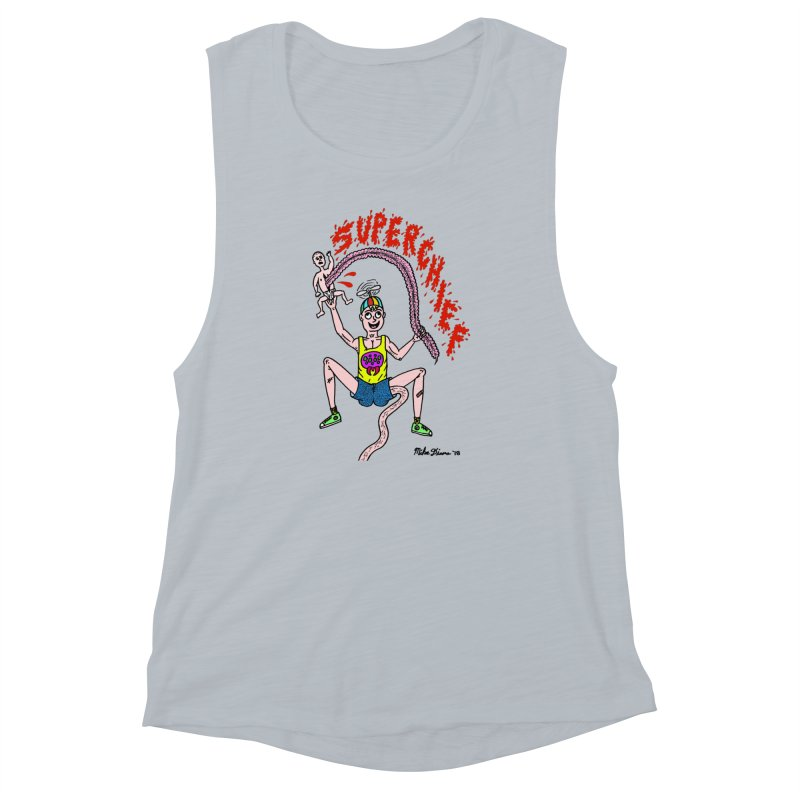 Mike Diana Superchief Kid Women's Muscle Tank by Mike Diana T-Shirts Mugs and More!