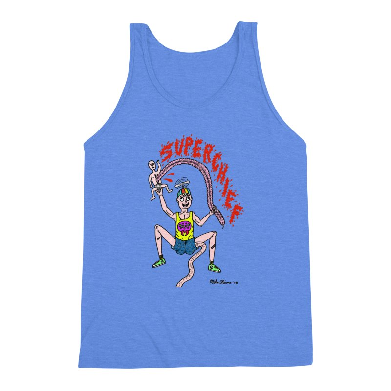 Mike Diana Superchief Kid Men's Triblend Tank by Mike Diana T-Shirts Mugs and More!