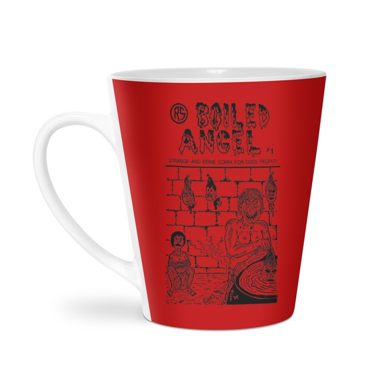 Boiled Angel #1 Cover Accessories Latte Mug by Mike Diana T-Shirts Mugs and More!
