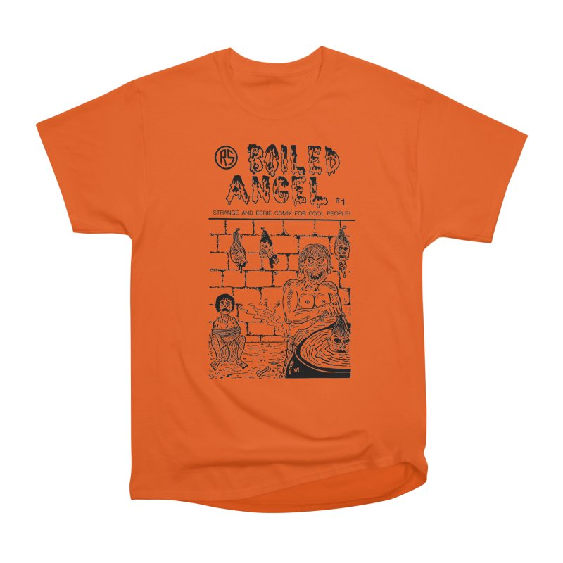 Boiled Angel #1 Cover Men's Heavyweight T-Shirt by Mike Diana T-Shirts Mugs and More!