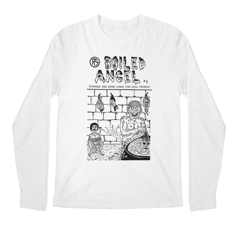 Boiled Angel #1 Cover Men's Regular Longsleeve T-Shirt by Mike Diana T-Shirts Mugs and More!
