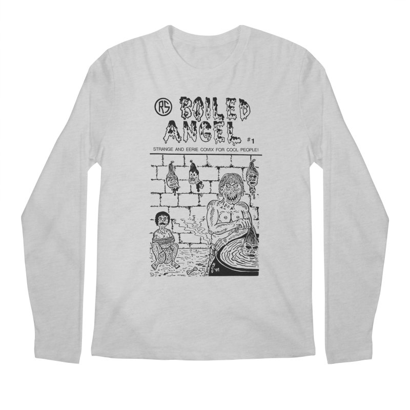 Boiled Angel #1 Cover Men's Regular Longsleeve T-Shirt by Mike Diana T-Shirts! Horrible Ugly Heads Limited E