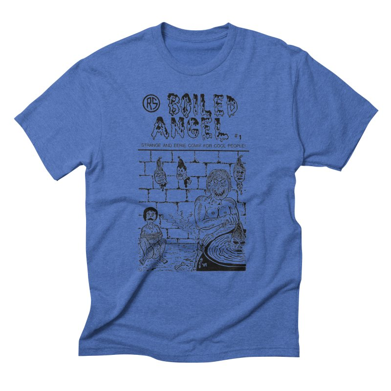 Boiled Angel #1 Cover Men's Triblend T-Shirt by Mike Diana T-Shirts! Horrible Ugly Heads Limited E