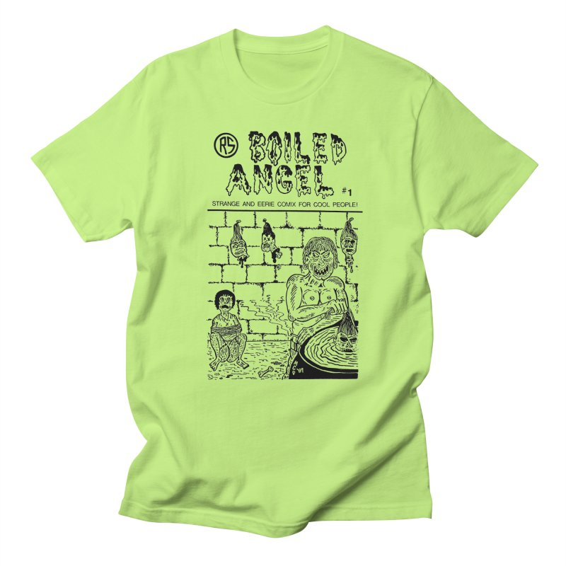 Boiled Angel #1 Cover Men's Regular T-Shirt by Mike Diana T-Shirts Mugs and More!